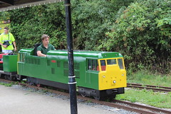 Miniature train (Davydutchy) Tags: park uk greatbritain england green station train miniature gare centre country rally july zug bahnhof register annual truk essex southend trein engeland tatra basildon 2015 pitsea wattyler