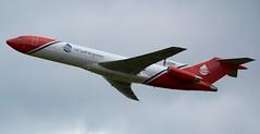 Oil Spill Response Boeing 727-2S2FAdv(RE) Super 27 G-OSRB Climb (Mark 1991) Tags: boeing 727 cosford rafcosford 727200 727200adv oilspillresponse gosrb