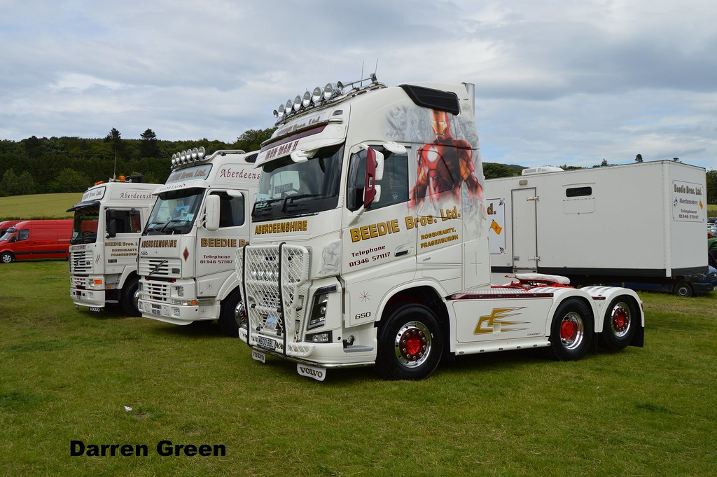 Aberdeenshire truck photos