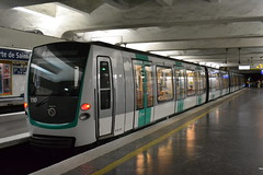 RATP Paris M9 - 110 (Will Swain) Tags: city travel cloud paris france saint underground de french europe metro centre transport 110 july 9 rail railway porte 14th railways parisian ratp m9 2015 mf2000