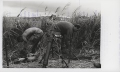 S. Hawkins and R.J. Thibault Prepare Defensive Positions, 1969 (Marine Corps Archives & Special Collections) Tags: river marine war jonathan vietnam corps marines abel operation dawson