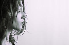 Time of Reflection. (Jim Carrington - CB1 Photography) Tags: cambridge cb1photography femaleportrait fashion studioportrait monochrome hair thoughtful thinking reflecting blackwhitephotos