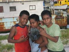 Kids, Betio, Kiribati!
