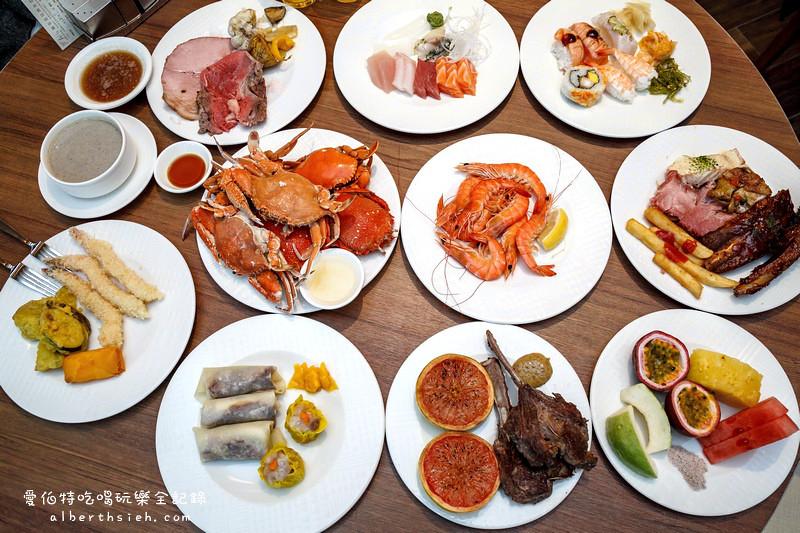 台北吃到飽.漢來海港餐廳-天母SOGO(Buffet種類超多螃蟹海鮮甜點讓你吃到爽)