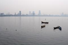 Boats, Bombay (NovemberAlex) Tags: bombay light colour india water