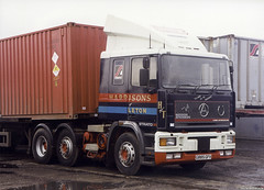 Harrisons of Tarleton Seddon Atkinson Strato (Betapix) Tags: truck trucks lorries hgv lgv 1 2 3 artic trailer