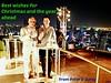 Christmas greetings! (Peter Denton) Tags: city peterandliang silomroad bangkok thailand southeastasia lebua skybar christmasgreetings selfie cityscape