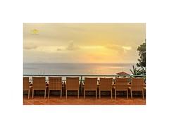 Front row seats..... (silver/halide) Tags: caniço frontrow madeira seaview johnbaker atlantic atlanticocean island