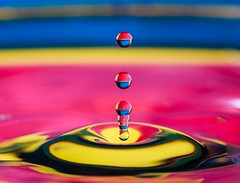 And now to something completely different... (tods_photo) Tags: ifttt 500pxrtg 500px macro water drop colour artistic art red blue yellow liquid funny