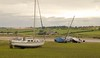 Alnmouth on the Northumberland Coast (Adam Swaine) Tags: northeast northumberland coastal coast rural village villages estuary counties river rivers riverbank englishlandscapes englishrivers boats mud tidal alnmouth alne riveralne