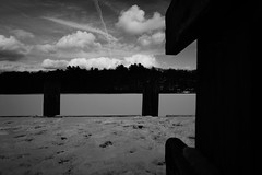 DSC04088.jpg (The Active Shooter) Tags: daytime turtlepond bnw dock