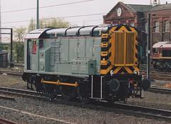 "Grey Liveried Class 08, 08922 (37190 ""Dalzell"") Tags: nonstandard lightgrey db dbschenker shunter rods gronk ee englishelectric class08 08922 d4152 doncaster"