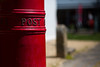 outpost (Keith Midson) Tags: letterbox postbox post australiapost red canon 135mm softfocus