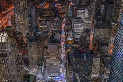 Slice of new york (karinavera) Tags: puzzle travel sonya7r2 newyork nyc view aerial wtc night cityscape city