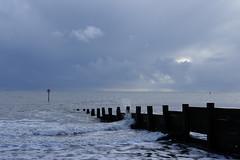 Yaverland (pauldbrown) Tags: yaverland beach foreboding iow isleofwight sea seascape sky