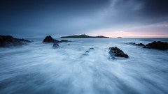 The Island (Graham Daly Photography (ASINWP)) Tags: ballycotton canon1635 canon6d countycork eastcork grahamdalyphotography leefilters longexposure seascapes sunrise ballycottonlighthouse beach coastalimages dawn dawnpatrol earlymorninglight imagesofireland irishlandscapephotographer irishlandscapephotography landscapesofireland magichour rocks waves winterlight theisland wideformat 169 fineart moodywinterseascapes