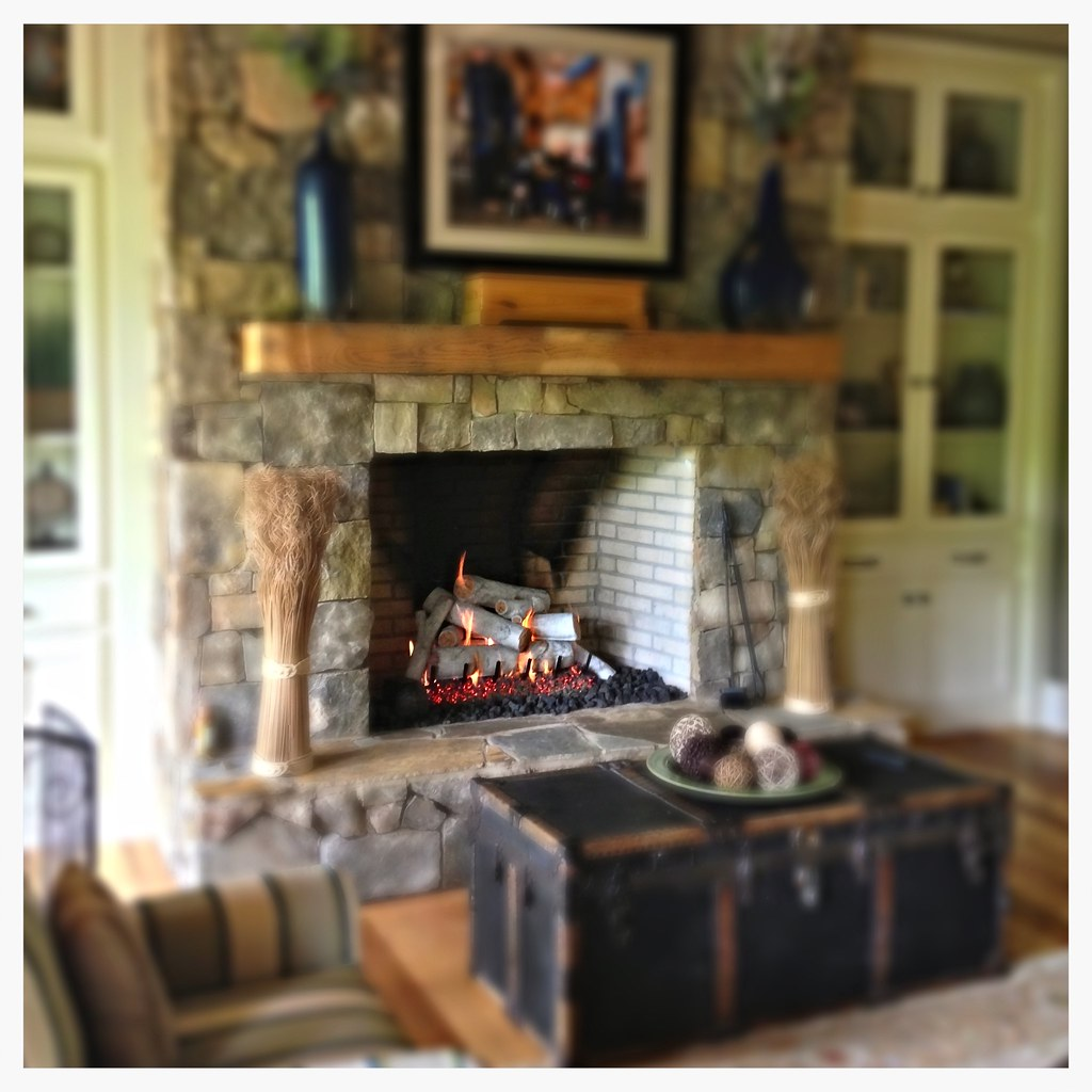 Rasmussen Custom Set of Birch Gas Logs, Harrison, Tn.