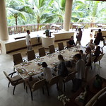 Lunch im Four Seasons Sayan, Bali