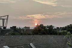 sunset (TheMutantCow / MutánsTehén) Tags: roof sunset urban hungary capital budapest roofs buda pest zugló budapestism