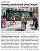 BANKSY, POIDS LOURD CHEZ DROUOT - 20 MINUTES - 1ER JUIN 2015 (Brin d'Amour) Tags: banksy vente enchères 20minutes brindamour drouot