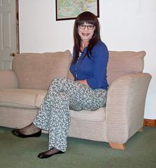 Well Trousered (Starrynowhere) Tags: glasses crossdressing tgirl transgender flats tranny transvestite trousers crossdresser cardigan transvestism crossdressed starrynowhere emmaballantyne