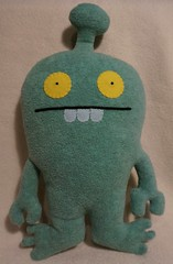 Uglydoll Rare Unknown - David Horvath (jcwage) Tags: handmade oneofakind prototype sample target tray uglydoll rare citizens uglydolls icebat babo horvath davidhorvath sunminkim sunmin uglycon uglyverse