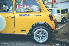 Mini (marctriumph) Tags: classic car yellow austin belgium belgie 10 meeting mini rover special atlas vehicle minicooper british yokohama tw kn caferacer tyre brits clubman classicmini motul britishcar canon35mm minilight uniroyal studiobrussel meguiars yellowmini miniclubman minilights caféracer canon35mmf20 canon6d philipsclassics britaxcooper 35mmf20is