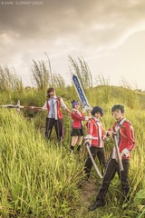 (ShiroWengPhotography) Tags: game anime grass japan dark photography warm gun comic cosplay no hill manga culture malaysia sword animation heroes cosplayer katana legend cos element sen 2015 kiseki broga tamashii shiroweng