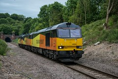 60085 Dragging 56087 & 56105 ,1844 Immingham Transit Quay to Washwood Heath Met.Cammel, Kirton Lindsey ,6-7-2015 (Bri Hall) Tags: grid tug colas class60 class56 56087 56105 60085 kirtonlindsey colasrail