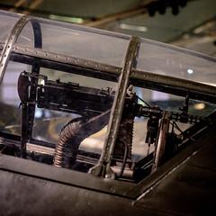 SAAB B17 (Mattias Lindgren) Tags: museum project sweden dive b17 365 airforce bomber saab relics machinegun linköping 50mmf14 divebomber 2015 flygvapenmuseum nikond600 saabb17 project2015