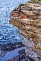 Clovelly cliff