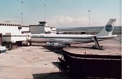Pan Am B707 N403PA Melbourne Tullamarine 1973 (denmac25) Tags: am melbourne pan boeing 707 tullamarine