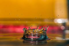 Splash (Cathy_abd) Tags: eau figé fuite goutte deau h2o impact liquide pluie éclaboussure abstrait bleu decor onde vibration splash