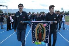 Alumnos del CIZ participan en peregrinación (Sociales El Heraldo de Saltillo) Tags: iglesia ciz elheraldodesaltillo saltillo salle ulsa niños niñas virgen guadalupe familia family famila