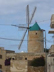 Windmill on Gozo (gordontour) Tags: malta gozo xagħra maltese heritage mediterranean building architecture mill windmill windpower