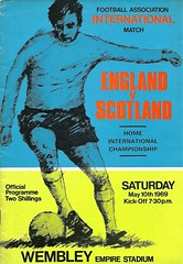 England v Scotland 19690510 (tcbuzz) Tags: england english football association fc wembley stadium empire london home international programme