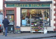 Brett's Store, Totterdown (nicksarebi) Tags: bretts shop oictria park totterdown bristol store