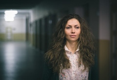 A gleam of hope (Pavel Valchev) Tags: portrait fd new canon manual lens lenses a6000 ilce nex sonyalpha sony aperture portraiture bulgaria peaking mf woman still interior fashion