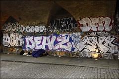 (Alex Ellison) Tags: eastlondon shoreditch night dealz dfn isno urban graffiti graff boobs dbk