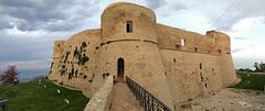 Castello Aragonese. (LucaBertolotti) Tags: abruzzo trabocchi city castello castle castelloaragonese ortona clouds costadeitrabocchi italia italy world
