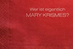 Mary Krismes...??? (Rainer Fritz) Tags: weihnachten serviette natur tablenapkin marykrismes merrychristmas