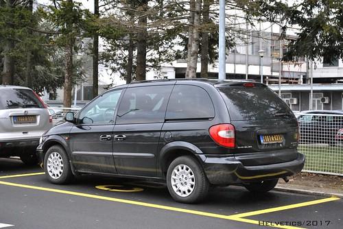 Chrysler Voyager - Serbia, diplomatic plate