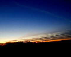 Wecome 2017 (LaLa83) Tags: sunrise dusk morning happynewyear 2017 january winter mybackyard blue orange outdoors stoutsville ohio fairfieldcounty sony alpha a230