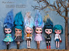 Crew love (pure_embers) Tags: pure embers blythe doll dolls laura england uk custom blue crew takara neo hair group picture january 2017 family portrait