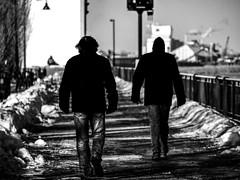 déterminés (photosgabrielle) Tags: photosgabrielle noiretblanc montréal monochrome bw bwphotography bwmontreal streetphotography urban urbain