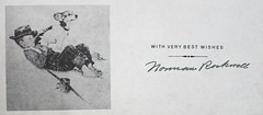 """Bookplate signed by Norman Rockwell in the book """"Norman Rockwell: Artist and Illustrator"""" by Thomas S. Buechner. NY: Abrams, (1970). (lhboudreau) Tags: book books hardcover hardcovers hardcoverbook hardcoverbooks dustjacketart bookart coverart dustjacket artbook abrams rockwell normanrockwell normanrockwellartistandillustrator jacketcover bookcover bookcoverart 1970 firstedition art artist illustration illustrations illustrator drawing drawings buechner thomassbuechner signature autograph label signedlabel bookplate signedbookplate text sketch writing blackandwhite withverybestwishes"""