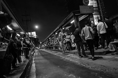 16) Tragedy of the Commons (Blue Nozomi) Tags: common people filipino commuter bus wait stop edsa road shed standing night manila philippines