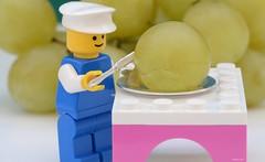 ...Peeling...   (Explored) (cegefoto (Off & On)) Tags: macromondays itsapeelingtome grapes druiven lego macro tamron 90mm hmm