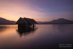 Mount Batur Sunset (migalvanas) Tags: mount batur bali volcano lake sunset rainbow colour landscape reflection silhouette