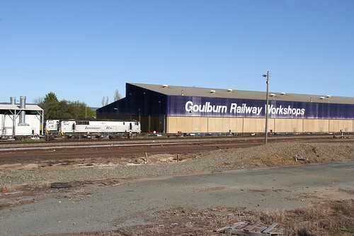 9772. 1427 stabled at Goulburn 2-10-16